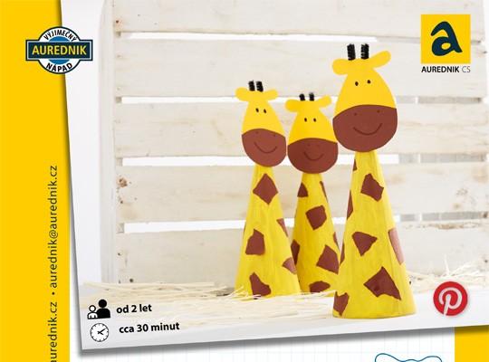 Žirafí rodina