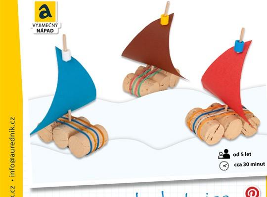 Korková plachetnice