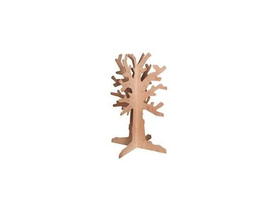 Strom dřevěný 3D - listnatý