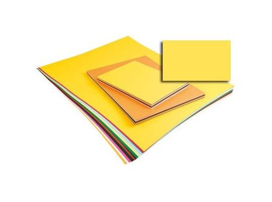 Unikarton 50x70cm -  žlutý