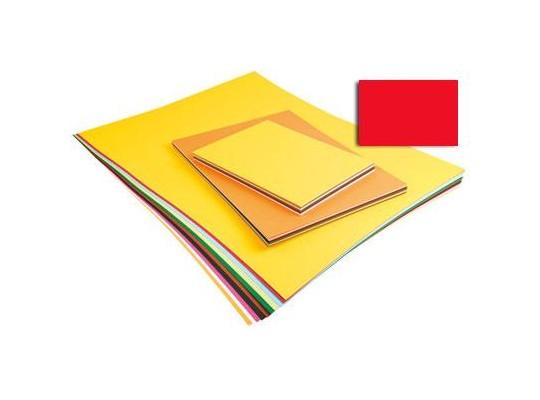 Unikarton 50x70cm -  červený