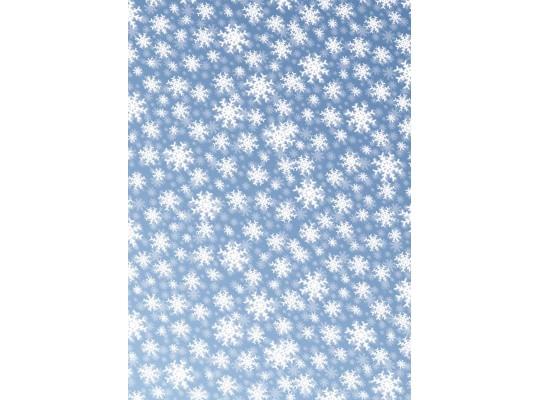 Papír transparentní 20x52cm-sníh