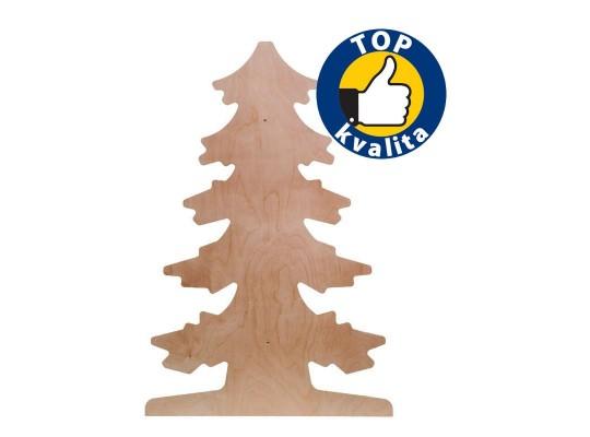 Strom dřevěný na zeď-jehličnatý