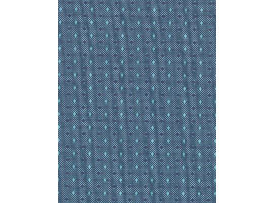 Látka potahová-polyester-š.140cm-Ramon-modrá světlá
