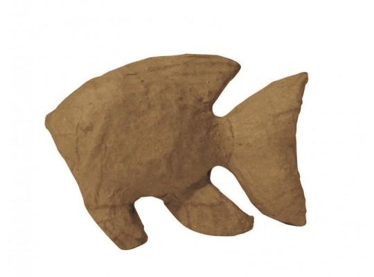Decoupage-tvar k dekoraci-ryba-10,5x3x7cm