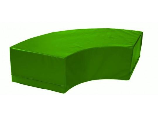 Stavebnice housenka oblouk zelený