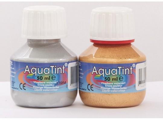 Barvy Aquatint zlatá/stříbrná                                                                                                                                                                                                                      (1+1ks)