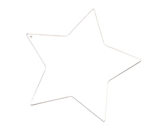 Plexi tvar hladký - Hvězda