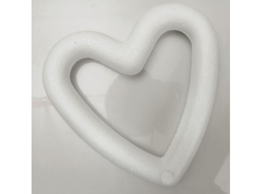 Polystyrenové rámečky - Srdce                                                                                                                                                                                                                        (5ks)
