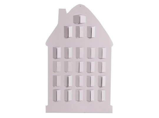 Domeček z lepenky-okénka