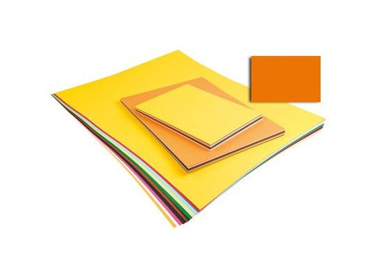 Unikarton 50x70cm -  oranžový