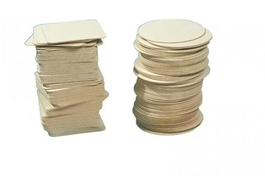 Tácky pivní čtvercové 9,3 x 9,3 cm                                                                                                                                                                                                                 (100ks)