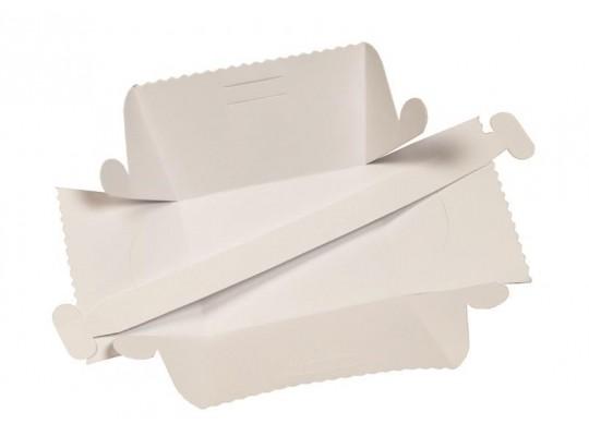 Košíček z papíru bílý