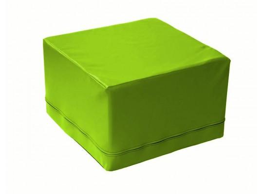 Stavebnice z PUR pěny housenka-kostka-zelená