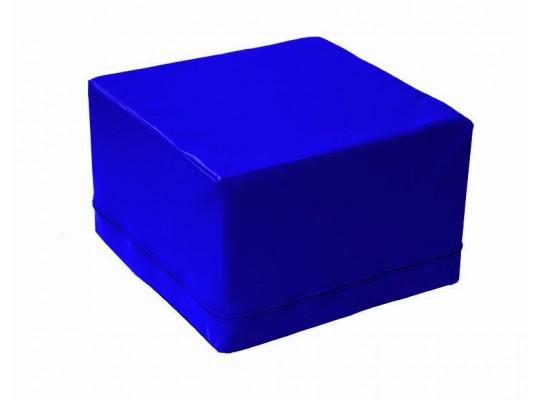 Stavebnice z PUR pěny housenka-krychle-modrá