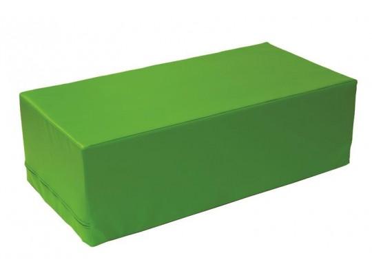 Stavebnice z PUR pěny housenka-kvádr-zelená
