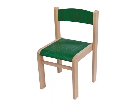 Židle dětská zelená-42cm