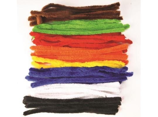 Chlupaté drátky barevné silné                                                                                                                                                                                                                       (50ks)