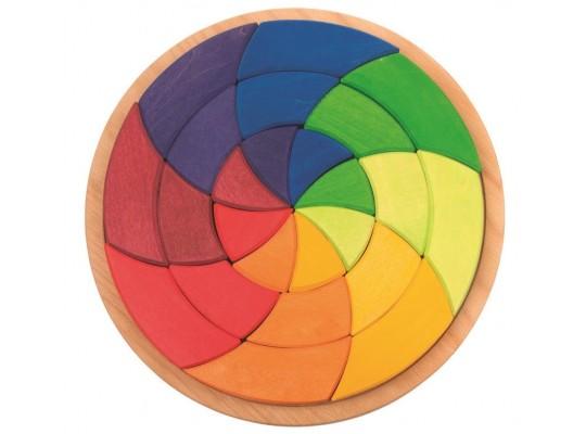 Mozaika dřevěná Grimm´s -kruh