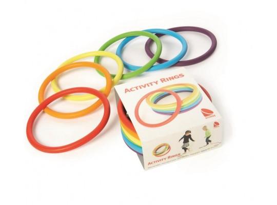 Kroužky na cvičení
