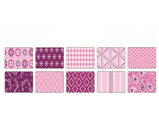 Papír na skládání dekorační růžový