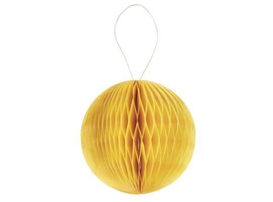 Papír plástvový-balónek-žlutý-20g/m2-pr.8cm