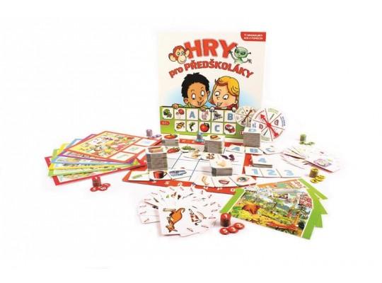 Hry pro předškoláky-hra desková