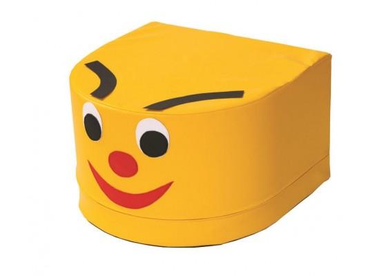 Stavebnice housenka hlava-žlutá