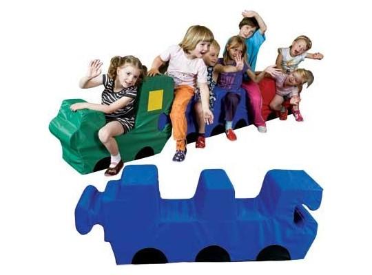 Vagónek – puzzle pro 2 děti