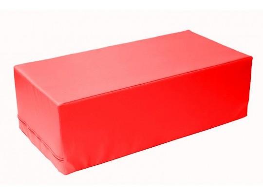 Stavebnice z PUR pěny housenka-kvádr-červená