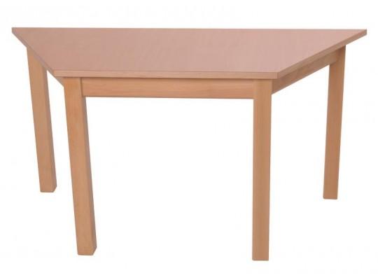 Stůl lichoběžník 120x60cm-výška 64cm
