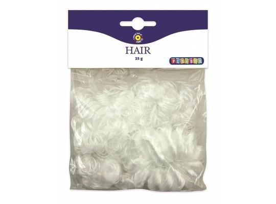 Vlasy andělské bílé