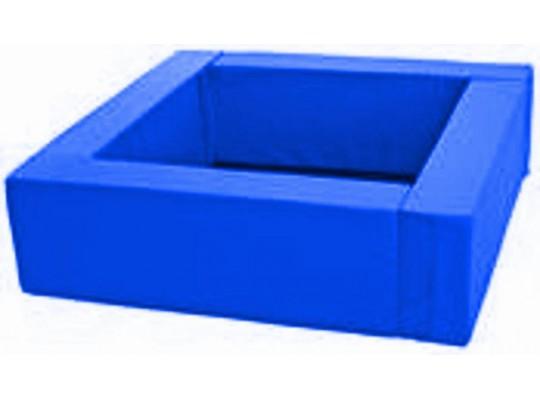 Bazén čtvercový modrý-koženka