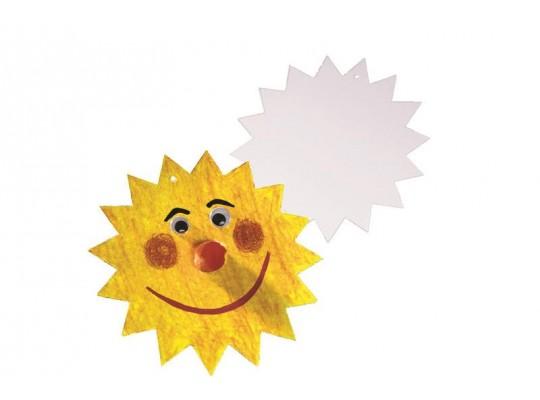 Sluníčko z lepenky-průměr 20cm