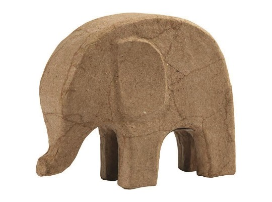 Decoupage-tvar k dekoraci-slon