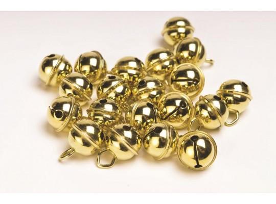Rolničky zlaté kulaté                                                                                                                                                                                                                               (10ks)