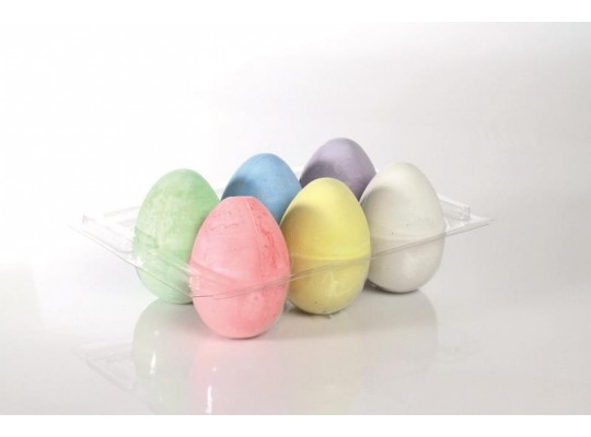 Křídy chodníkové vajíčka (6)