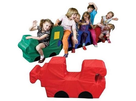 Vagónek – puzzle pro 1 dítě