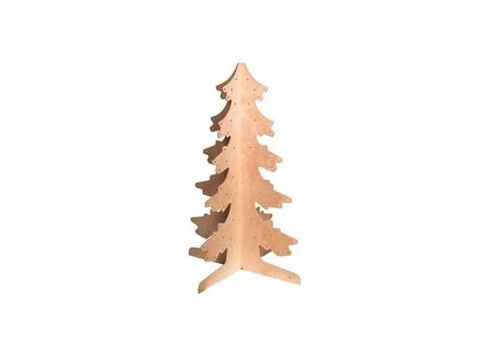 Strom dřevěný 3D - jehličnatý