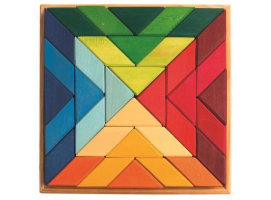 Mozaika dřevěná Grimm´s -čtverec