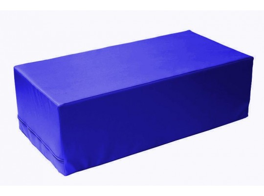Stavebnice z PUR pěny housenka-kvádr-modrá