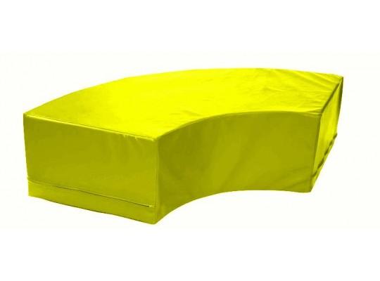 Stavebnice housenka oblouk-žlutý