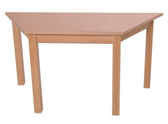 Stůl lichoběžník 120x60cm-výška 58cm