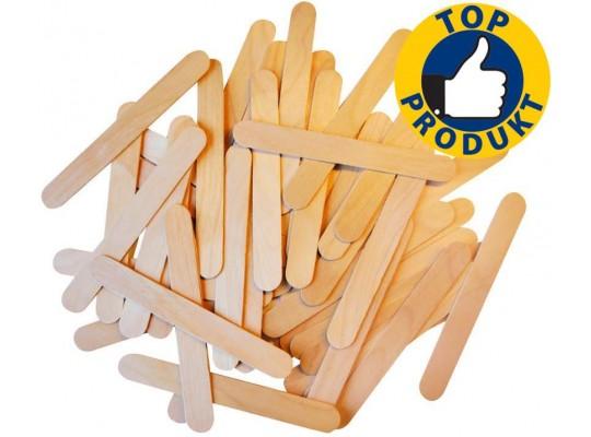 Špachtle dřevěné široké