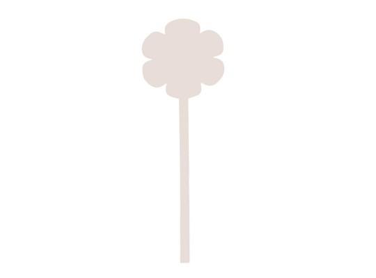Květina z lepenky