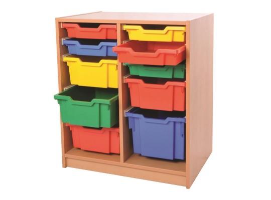 Skříňka - 10 boxů