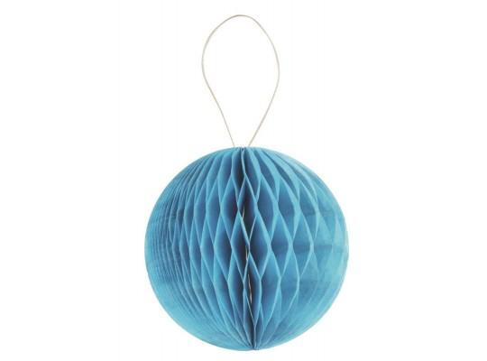Papír plástvový-balónek-tyrkysový-20g/m2-pr.8cm