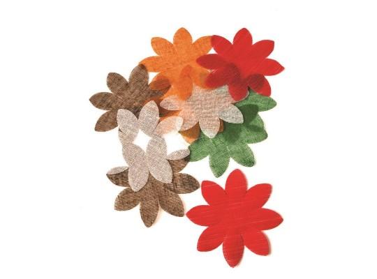 Květina textilní