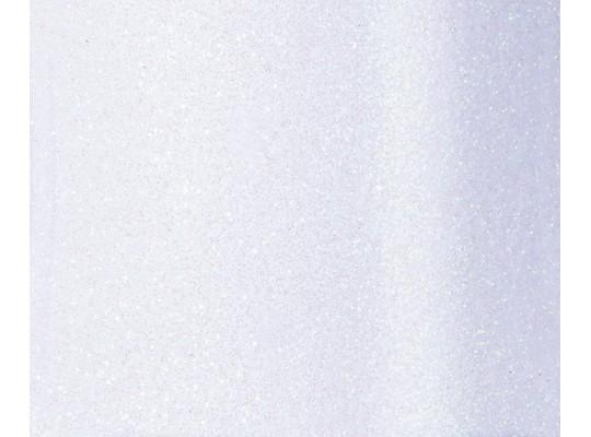 Pěnovka moosgummi samolepicí třpytivá bílá