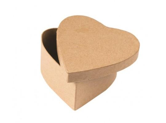 Krabička z lepenky-srdíčko